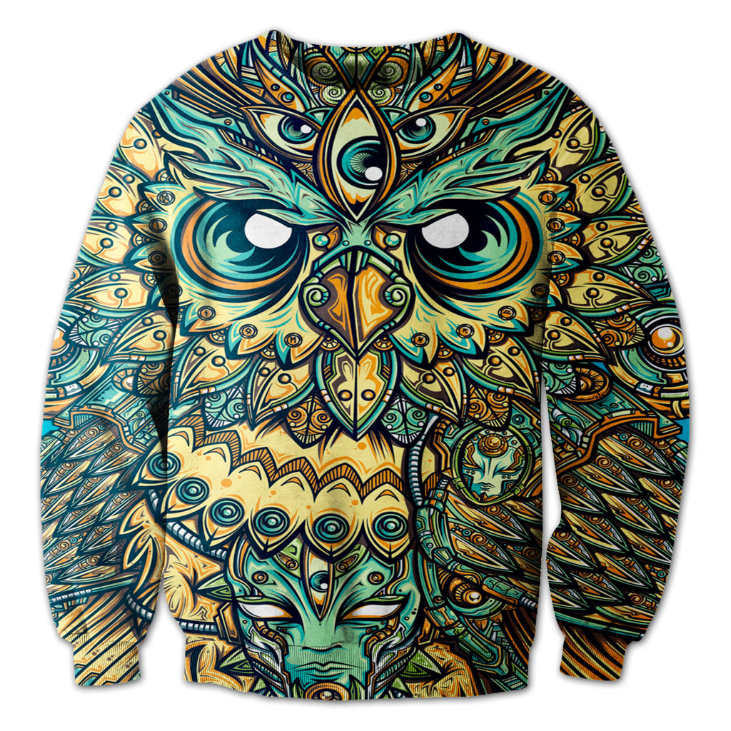 Owl Of The Night Crewneck