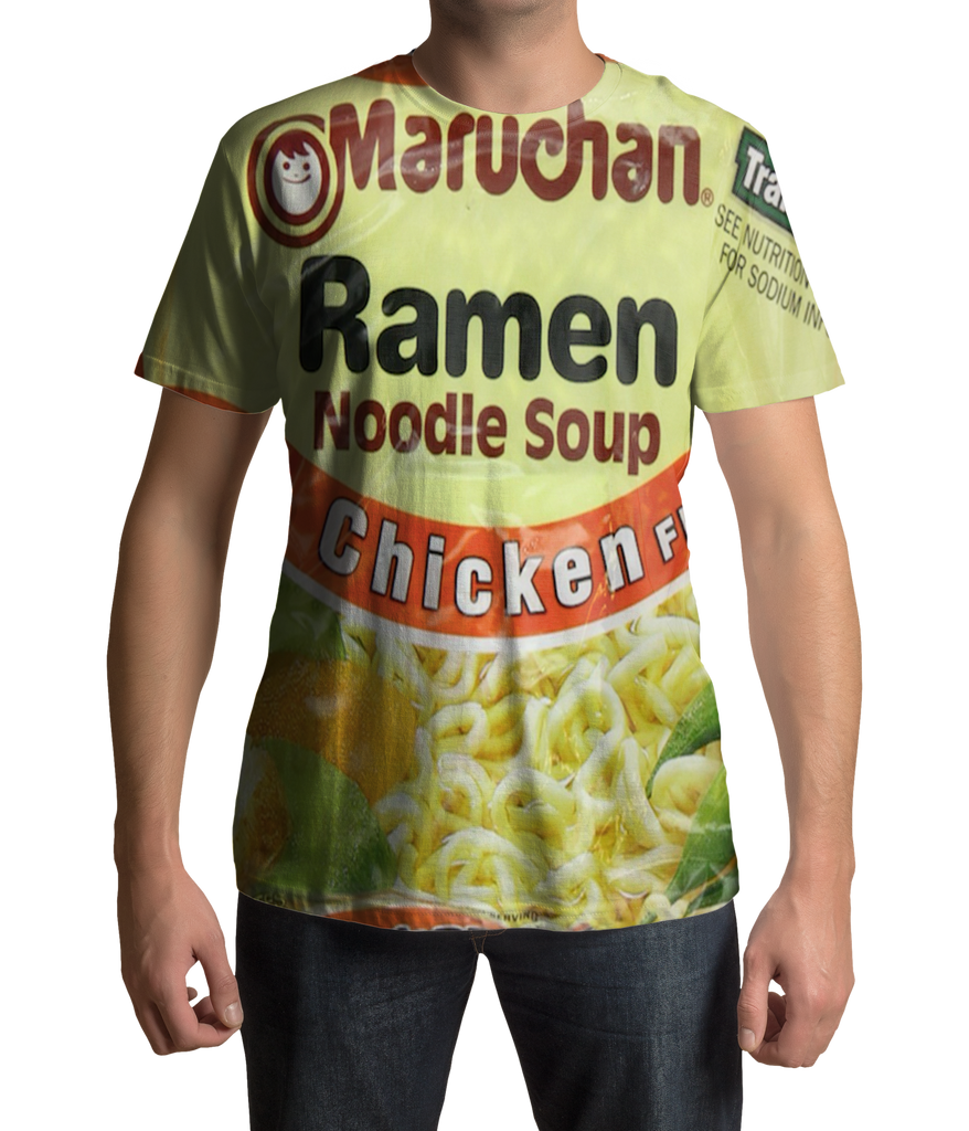 Chicken Ramen Noodles T Shirt