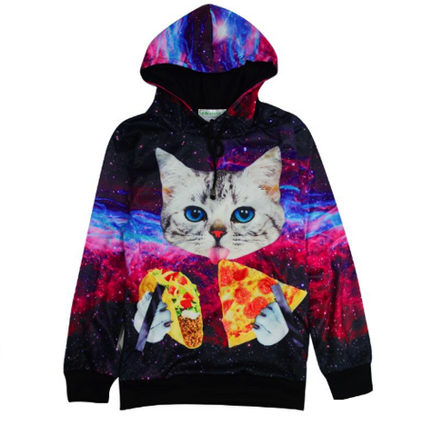 Cat and Chill Hoodie