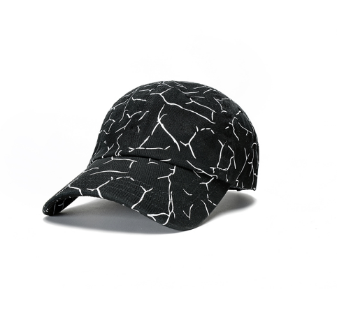Veins Dad Hat(Black)