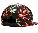 Marijuana Leaves Snapback