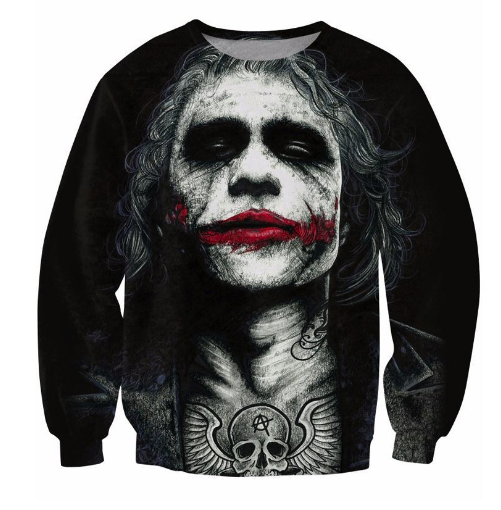 Tattoo Joker Crewneck