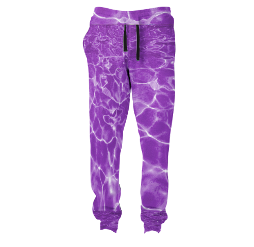 Purple Waters Joggers