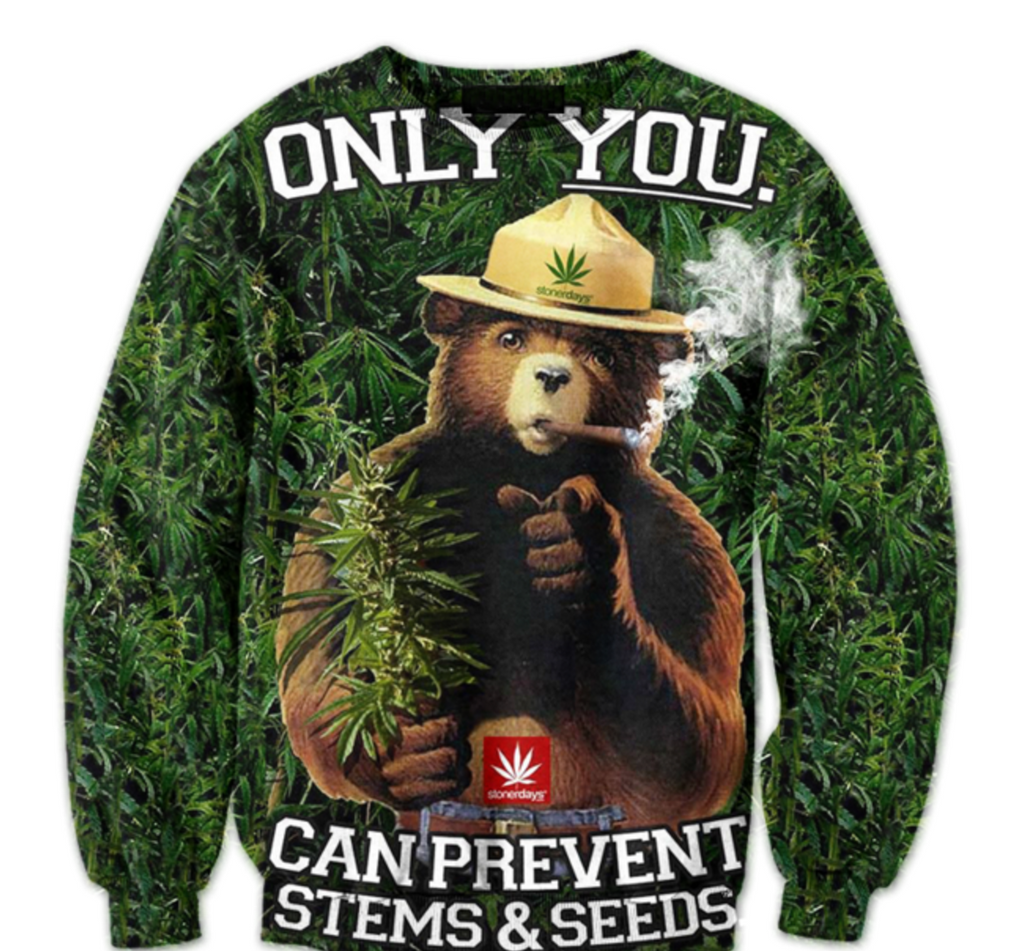 Smokey The Bear Crewneck