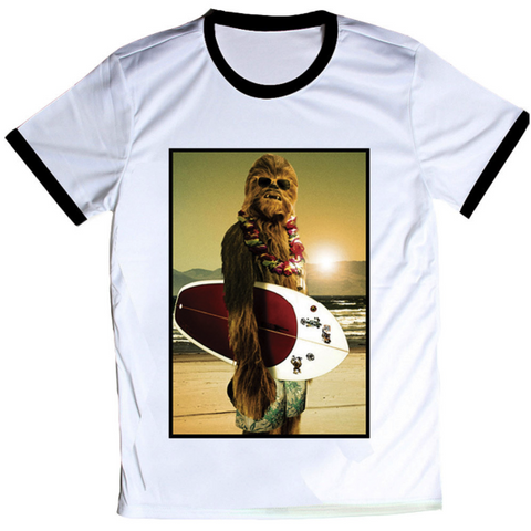 Chewbacca Chillin Tee