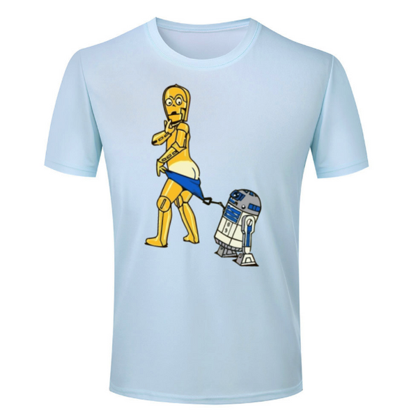 R2-D2 and C-3PO Prank Tee