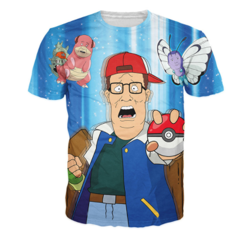 Pokemon x King Of The Hill Tee