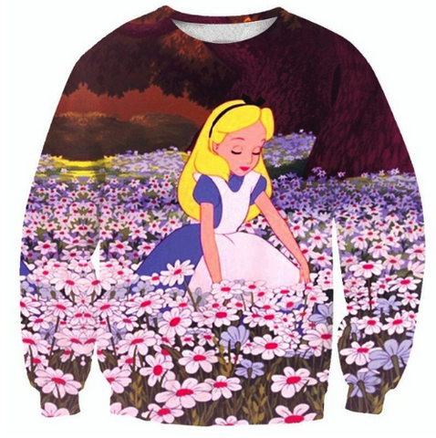 Alice & The Wonderland Crewneck