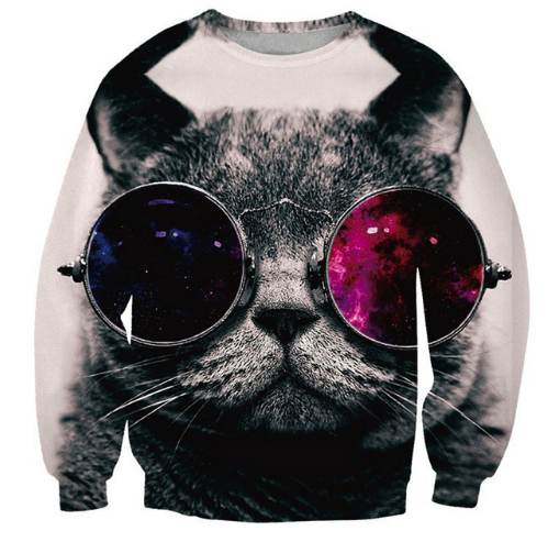 Cat Eyes Crewneck
