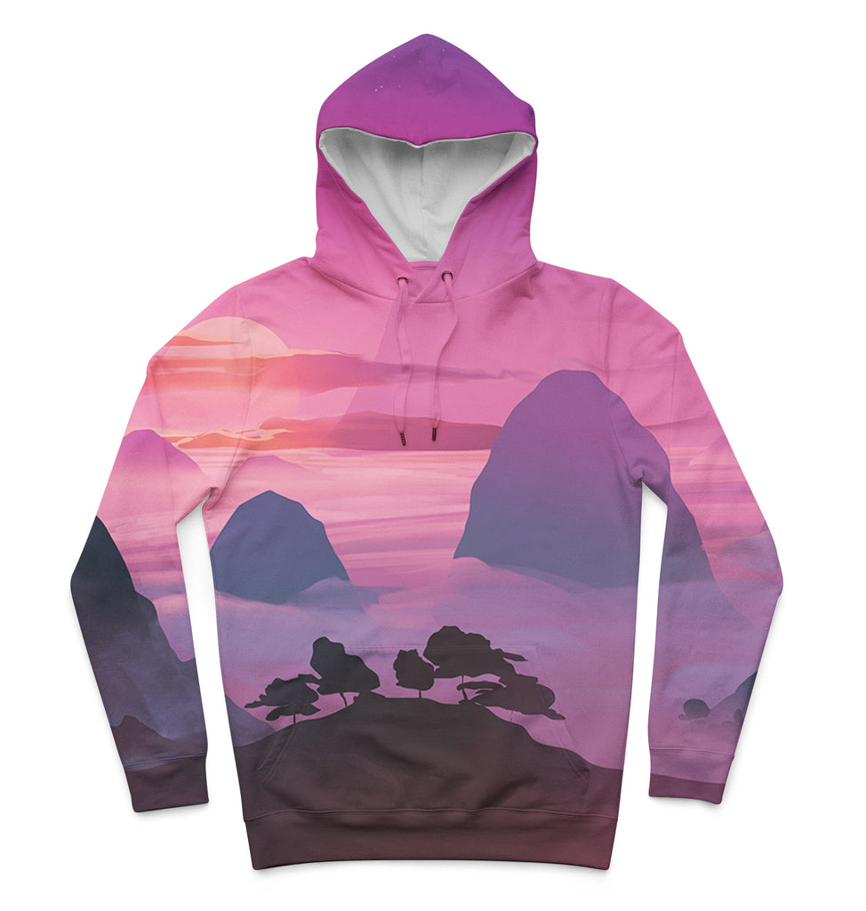 Sunset x Mountains Hoodie