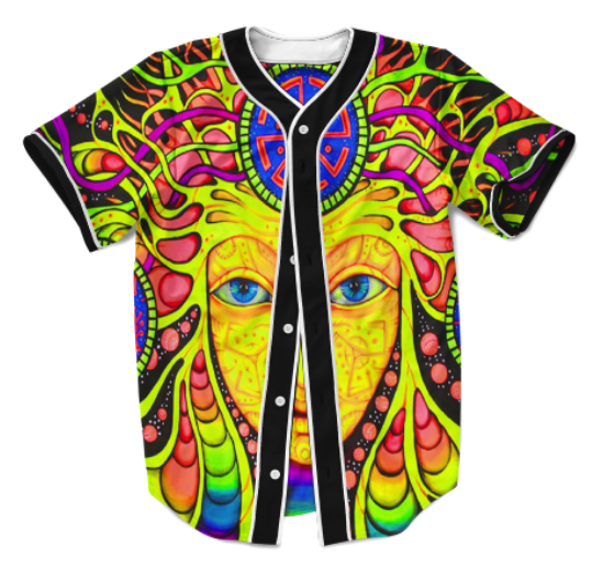 Trippy Face Jersey
