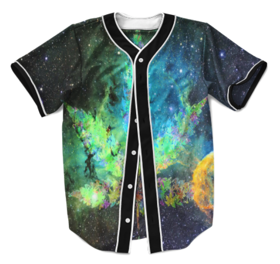 Weed Galaxy Jersey