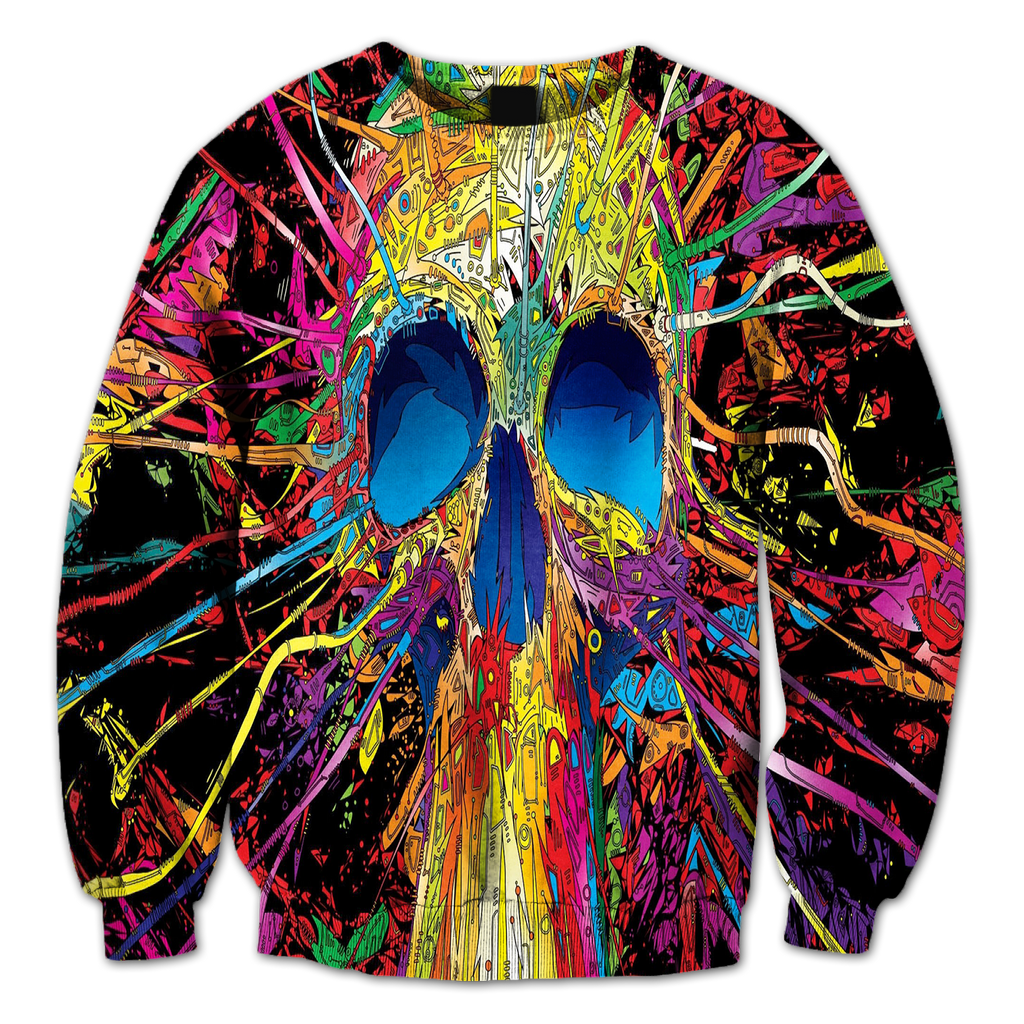 Trippy Abstract Crewneck