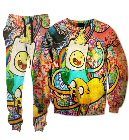 Adventure Time Drugs Tracksuit