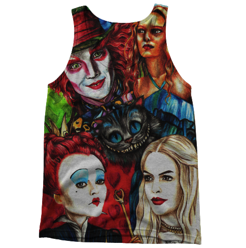 Alice and wonderland Tanktop