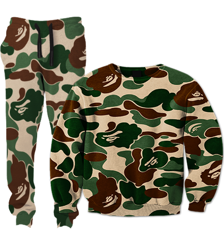 Babe Camo Tracksuit