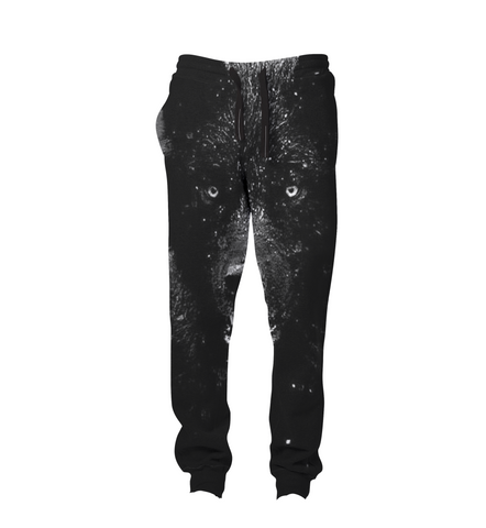 Black Wolf Joggers