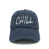 Chill Hat Dad Hat - Blue