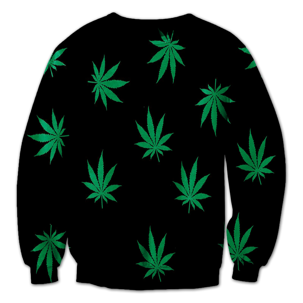 Marijuana Collage Crewneck