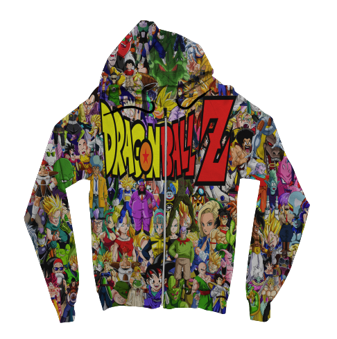 Dragon Ball Z Zip Up Hoodie