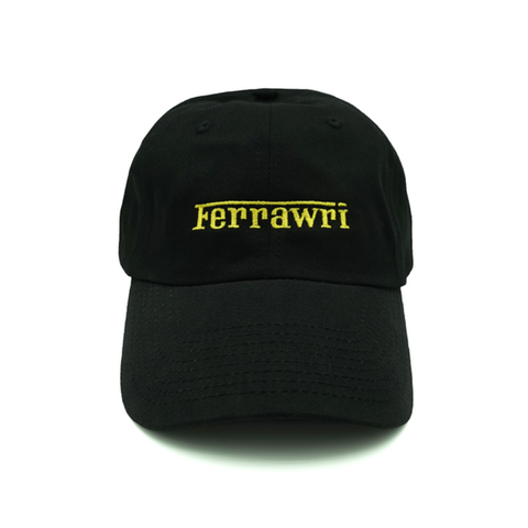 Ferrawri Dad Hat - Black