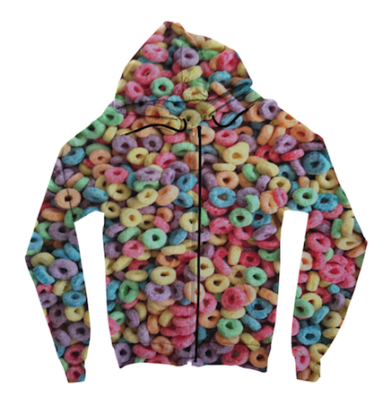Fruit Loops Zip Up Hoodie