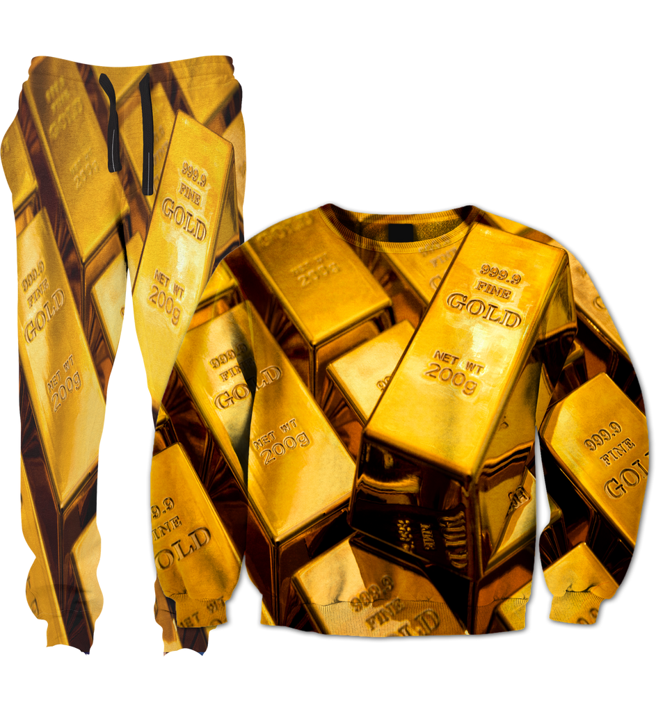 Gold Bars Tracksuit