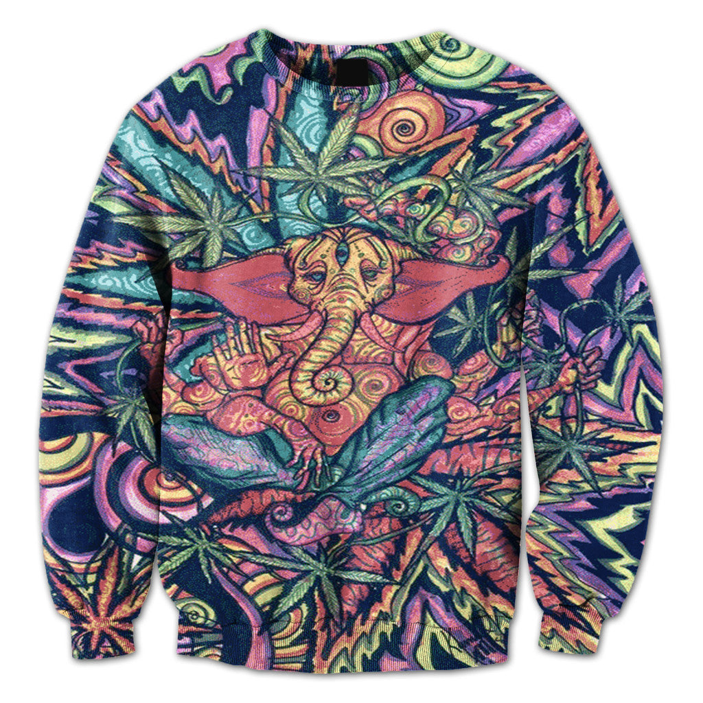 Marijuana God Crewneck