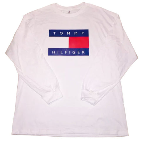 Vintage 90s Tommy Hilfiger Long Sleeve T Shirt