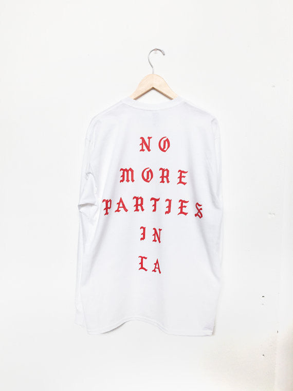 No More Parties In LA Pablo Kanye West Long Sleeve