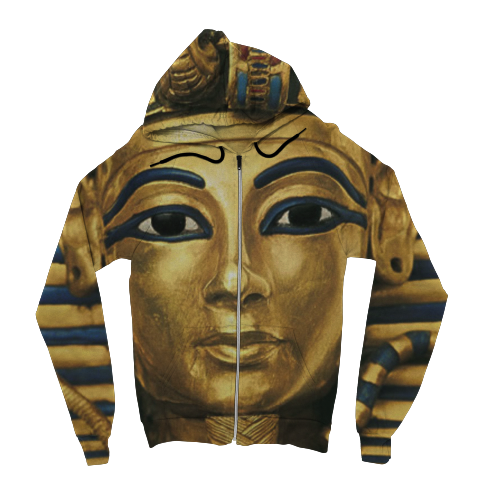 King Tut Zip Up Hoodie