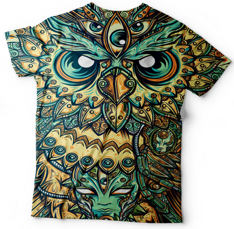 Owl From The Night T Shirt
