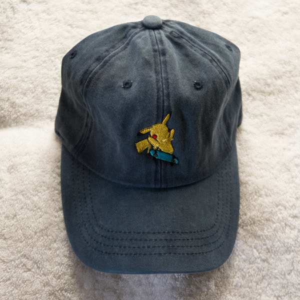 Pikachu Dad Hat - Denim