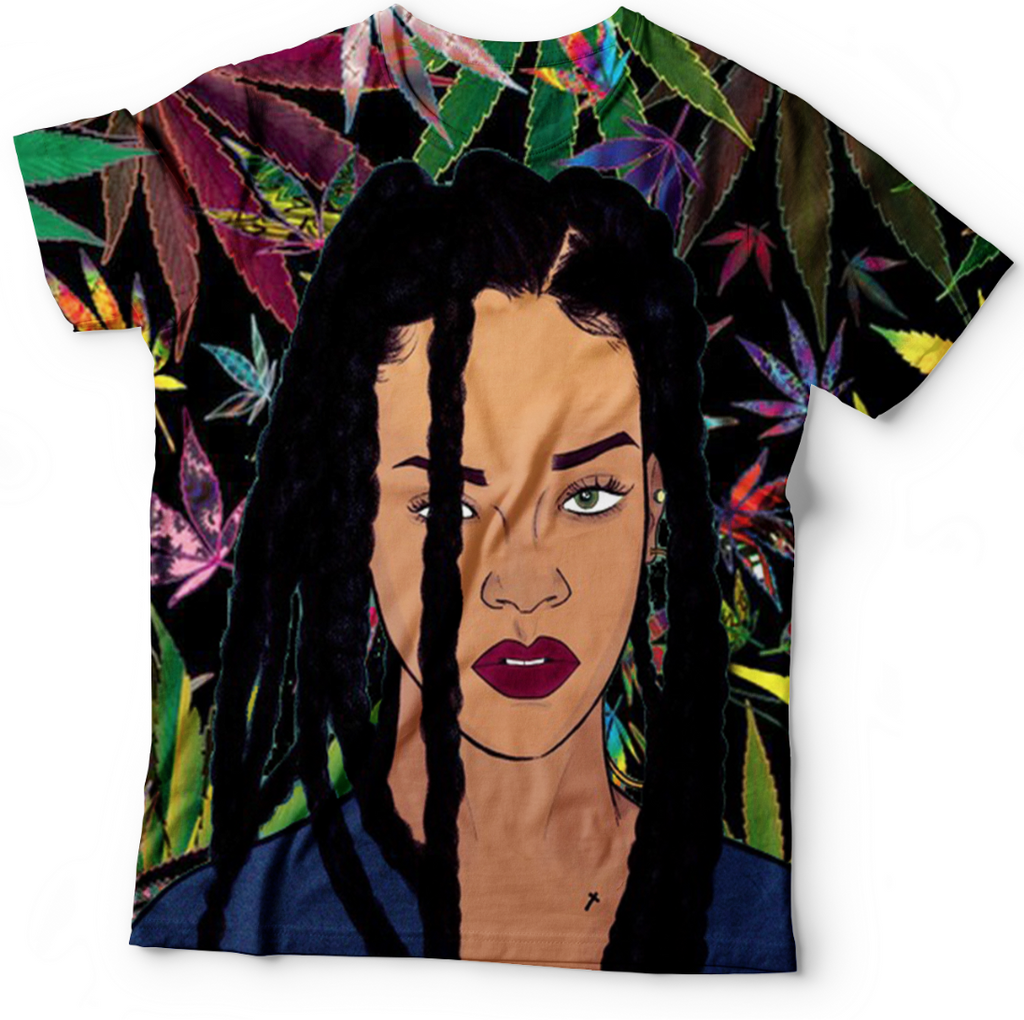 Trippy Rihanna T Shirt