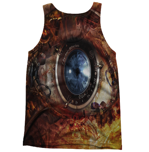 Robot Eye Tanktop