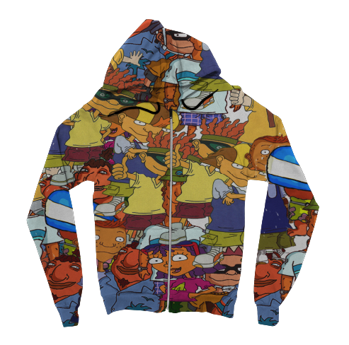 Rocket Power Zip Up Hoodie