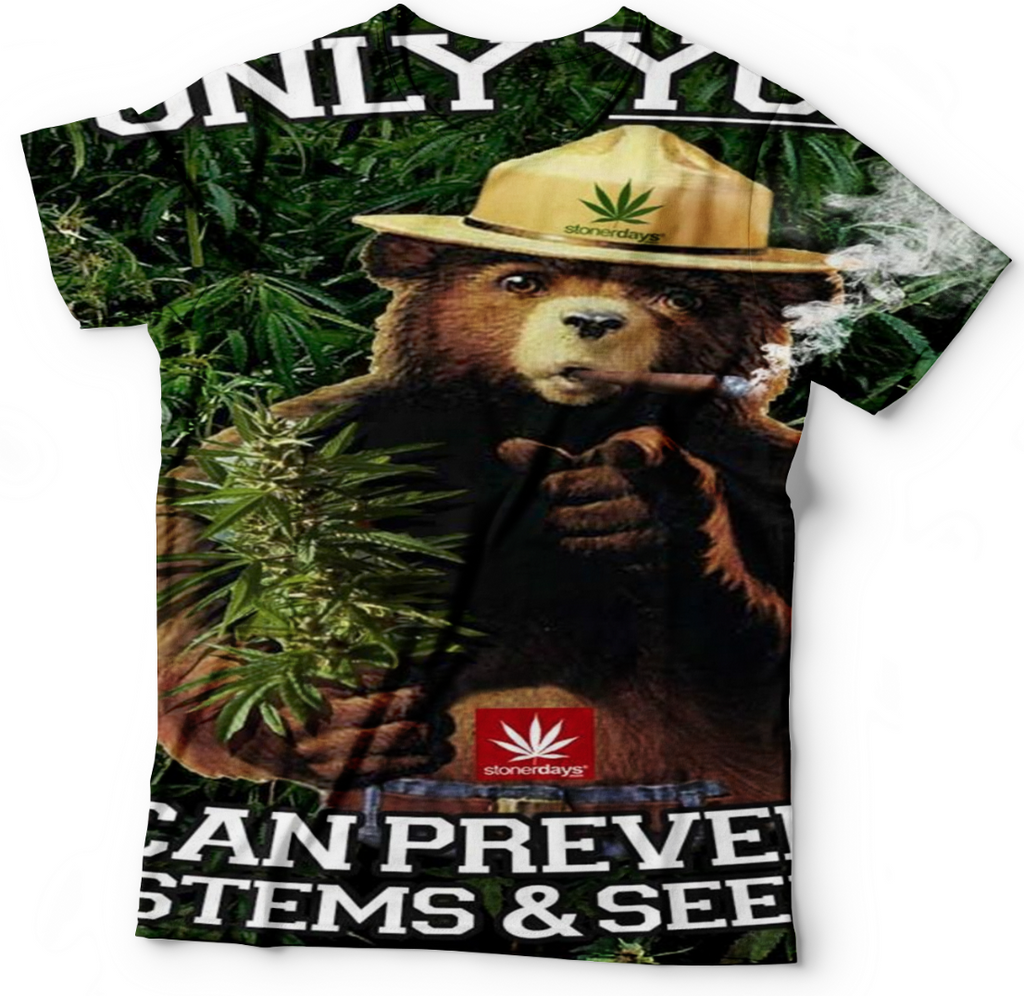 Smokey The Bear T Shirt