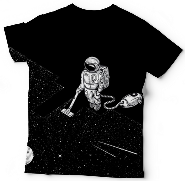 Space Cleaning T Shirt