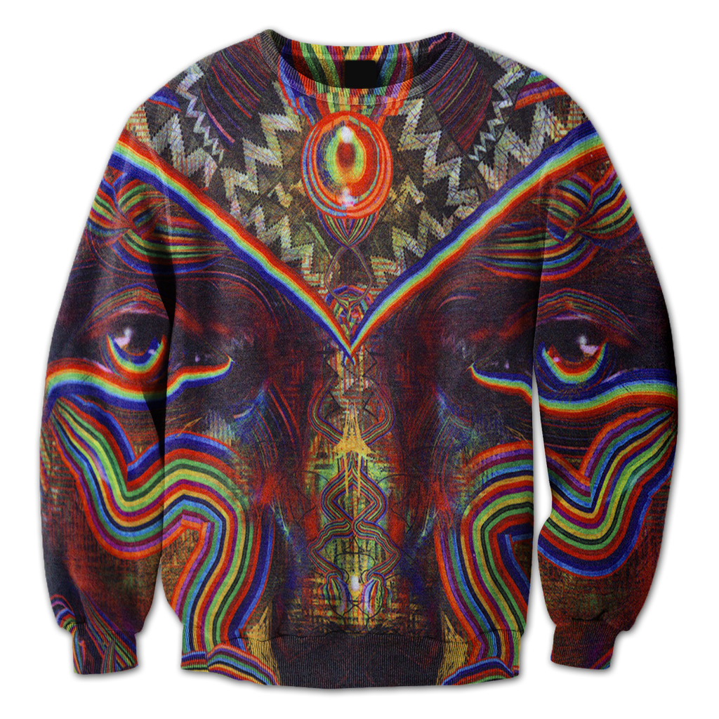 Trippy Eyes Crewneck