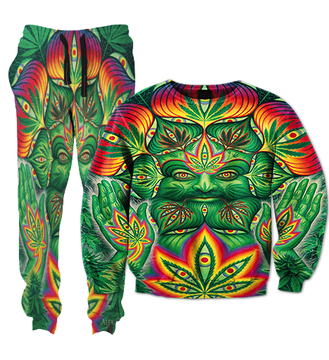 Weed Man Tracksuit
