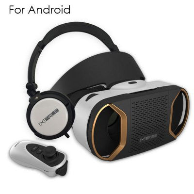 Baofeng Mojing IV VR Headset 3D Glasses - Golden Version for Android