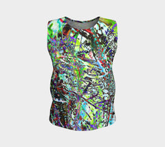 Aleph - Loose Fit Muscle Tank &&-Loose Tank Top (Regular)-Fate Designs-Fate Designs