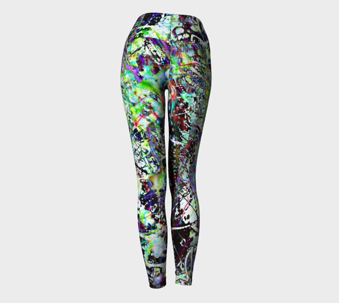 Aleph - Yoga Leggings &&-Yoga Leggings-Fate Designs-Fate Designs
