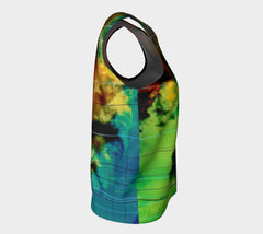 Cagey Drifter - Loose Tank Long &&&-Loose Tank Top (Long)-Fate Designs-Fate Designs