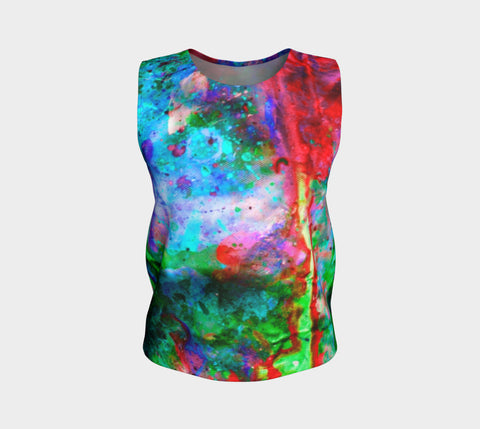 Chasm - Loose Fit Muscle Tank &&-Loose Tank Top (Regular)-Fate Designs-Fate Designs