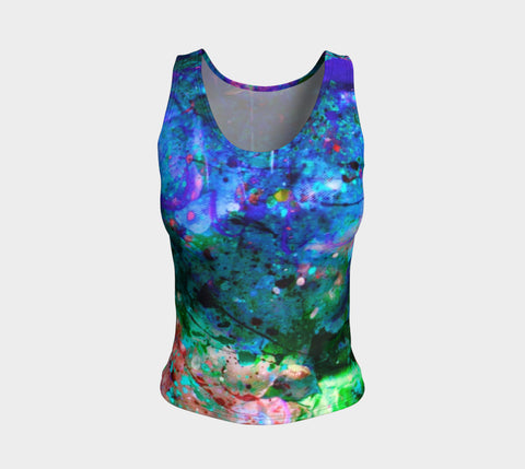 Chasm - Tank Top &&-Fitted Tank Top (Regular)-Fate Designs-Fate Designs