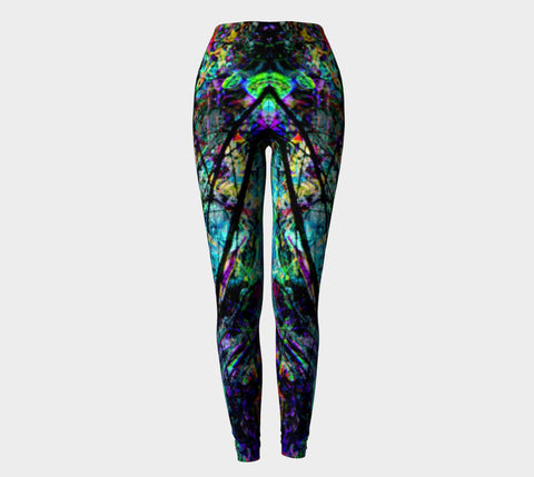 City Life - Abducted - Yoni Leggings-Leggings-Fate Designs-Fate Designs