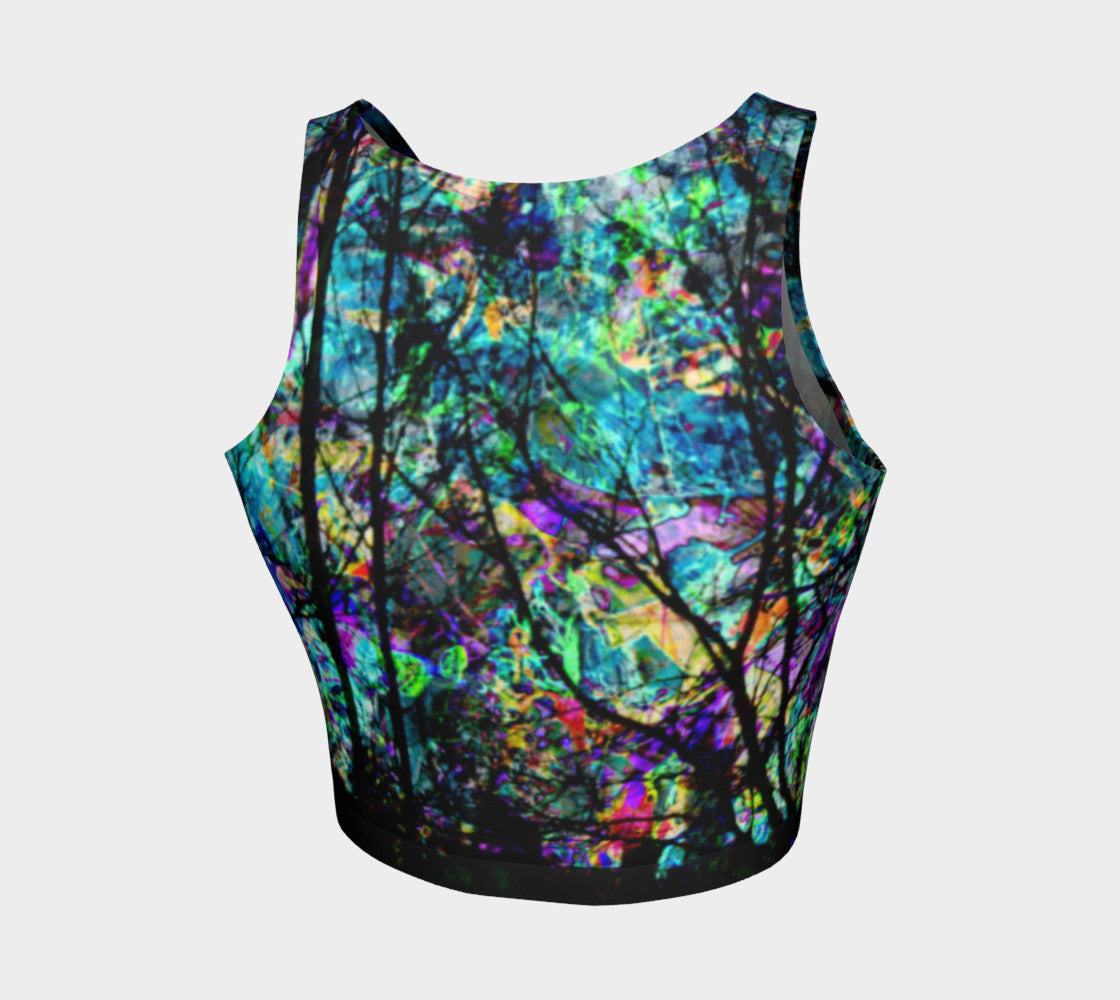 City Life - Crop Top &&-Athletic Crop Top-Fate Designs-Fate Designs