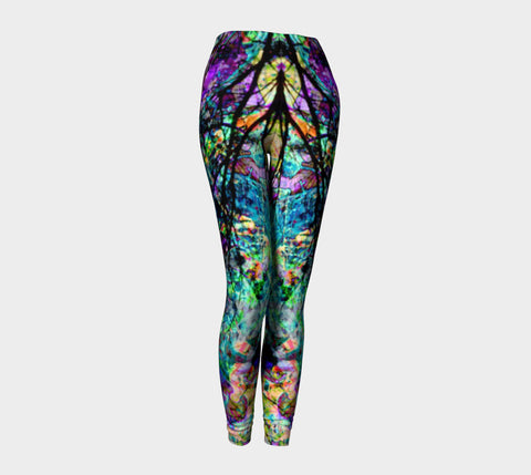 City Life - In Vitro - Yoni - Leggings-Leggings-Fate Designs-Fate Designs