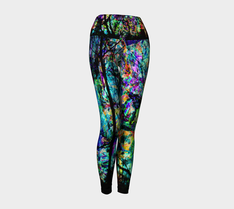 City Life - Yoga Leggings &&-Yoga Leggings-Fate Designs-Fate Designs